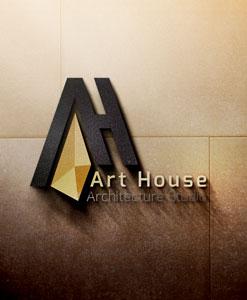 لوگو خانه هنر طراحی لوگو طراحی لوگو Art House 01