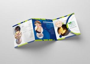 طراحی لوگو،ست اداری و بروشور ورزش بدون تحرک آرام